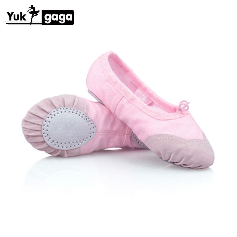 Child Adult Canvas Ballet Dance Shoes Slippers Pointe Dance Gymnastics 12 Size