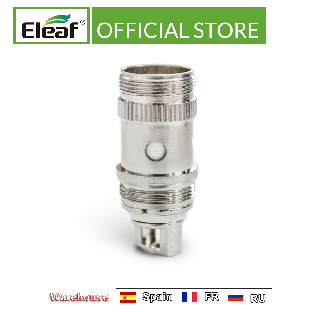[RU/ES] 5/10PCS Original Eleaf EC Head 0.3ohm/0.5ohm For Ijust 2/ijust S/melo 2/melo3 IJust2 EC Head Electronic Cigarette