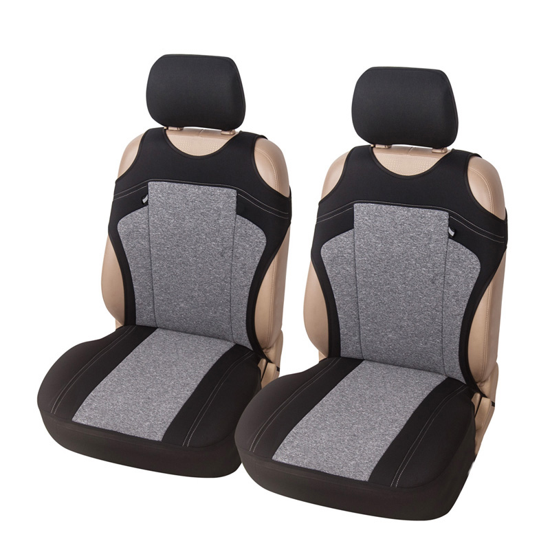 T-shirt Car Seat Cover Universal Fit Most Vehicles Cationic Fabric Front Seat Covers 3 Color Optional Decor Car Seat Protector