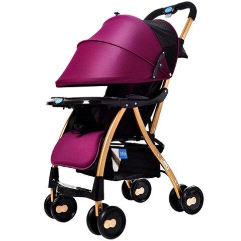 carrinho de bebe leve dobravel pode sentar se colocar portatil criancas guarda chuva carrinho de