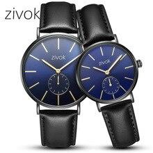 купить Couple Luxury Watch Queen Leather Quartz Analog Wrist Watches Chronograph 2019women men Waterproof Wristwatch по цене 708.16 рублей