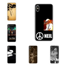 For iPod Touch Apple iPhone 4 4S 5 5S SE 5C 6 6S 7 8 X XR XS Plus MAX Neil Young Soft Transparent Shell Covers(China)