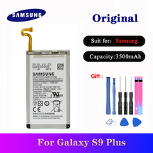 100% Original EB-BG965ABE Battery For Samsung GALAXY S9 Plus G9650 S9+ G965F Phone Replacement Battery 3500mAh AKKU original samsung phone case soft shell for sansung galaxy s9 plus g9650 s9 g9600 stealth tpu mobile phone cover