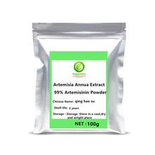 New arrival Natural Artemisia Annua Extract 99% Artemisinin Powder Sweet Wormwood anti cancer Longevity Support free shipping.