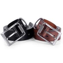 Men's belt leather belt men male leather strap luxury pin buckle Waistband casual Youth men's belt Cummerbunds ceinture homme цена