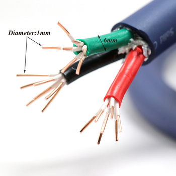 bvv 50mm square soft sheathed cable control power line monitor power cord home improvement copper electronic wire conductor Monosaudio P902 99.998% OFC copper conductor main power cable,  Hifi Audio power supply cord, AC power wire