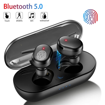 Y30 Bluetooth Earphones Wireless Headphones Touch Control Sports Earbuds Microphone Works On All Smartphones Music Headset TWS 1