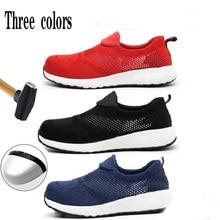 Men's Shoes Labor-Protection Anti-Smashing Indestructible