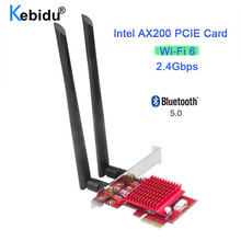 Wifi-Adapter PC MU-MIMO Card Ax200 Pcie Bluetooth Wi-Fi 6-Intel Wireless