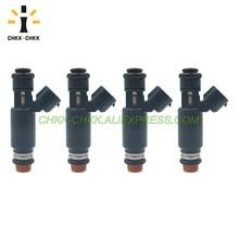 CHKK-CHKK 16600-8J010 195500-4390 Fuel Injector For NISSAN ALTIMA / SENTRA 2002~2006 2.5L L4 complete timing chain kit for 02 06 nissan altima sentra 2 5l dohc qr25de