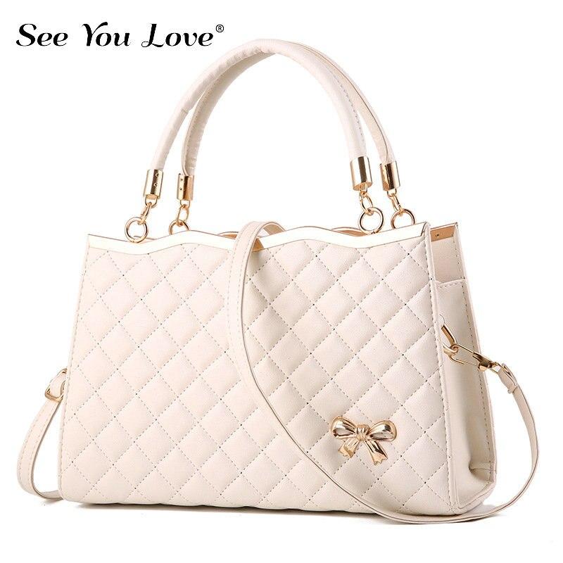 Image 4 - New Fashion Ladies Crossbody Bags For Women 2019 Plaid Flap Zipper Female Handbags  Luxury Brand Women Shoulder Messenger Bags-in Shoulder Bags from Luggage & Bags
