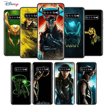Marvel Avengers Loki For Samsung Galaxy S21 S20 FE Ultra S10 Lite S9 S8 Plus S7 5G Soft TPU Silicone Black Cover Phone Case
