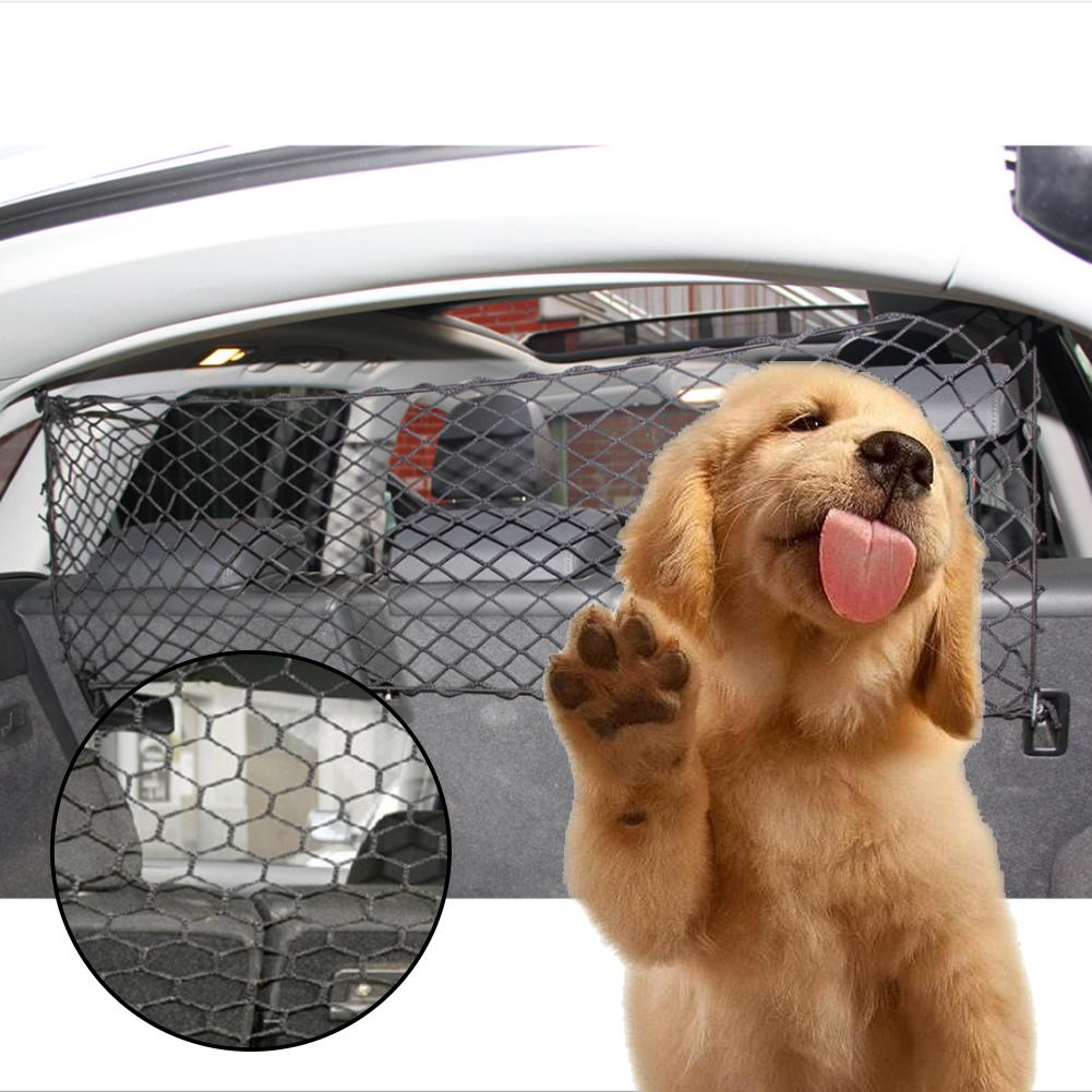 Car Anti-Collision Mesh Pet Auto Fence Barrier Isolation Network Safety Isolation Bar Child Dog Buffer Device 5