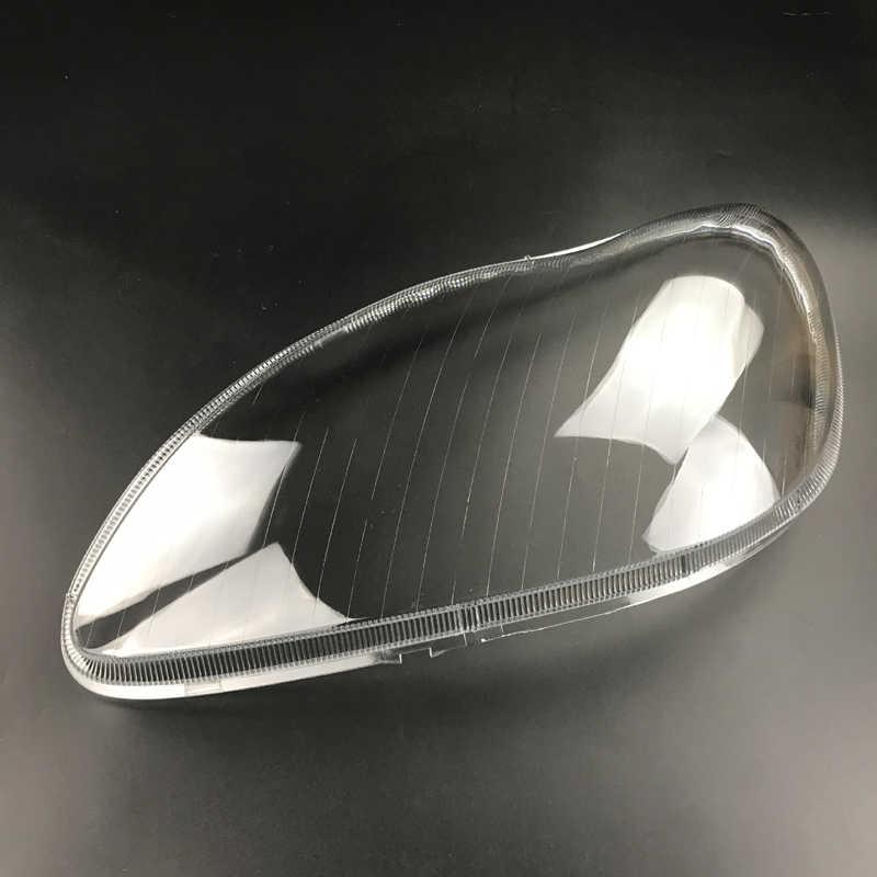 Para W220 S600 S500 S320 S350 S280 faros delanteros pantallas transparentes pantallas de carcasa de la l/ámpara m/áscaras faros cubierta lente faro