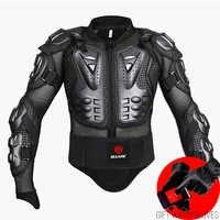 Nero/Rosso Moto Armatura di Protezione Motocross Rivestimento Dei Vestiti di Protezione Moto Cross Posteriore Armatura Della Protezione Del Motociclo Giubbotti