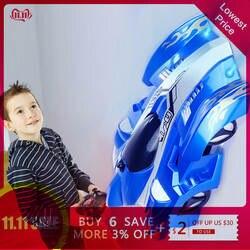 Новый RC автомобиль гоночный автомобиль игрушки восхождение потолок восхождение через стену пульт дистанционного управления анти