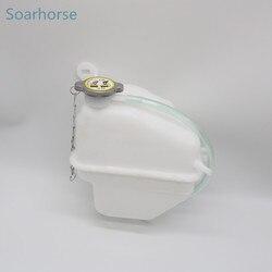 Samochód Soarhorse chłodnica silnika zbiornik płynu chłodzącego zbiornik wyrównawczy do Mitsubishi Delica L400 / Space Gear 1995-2005