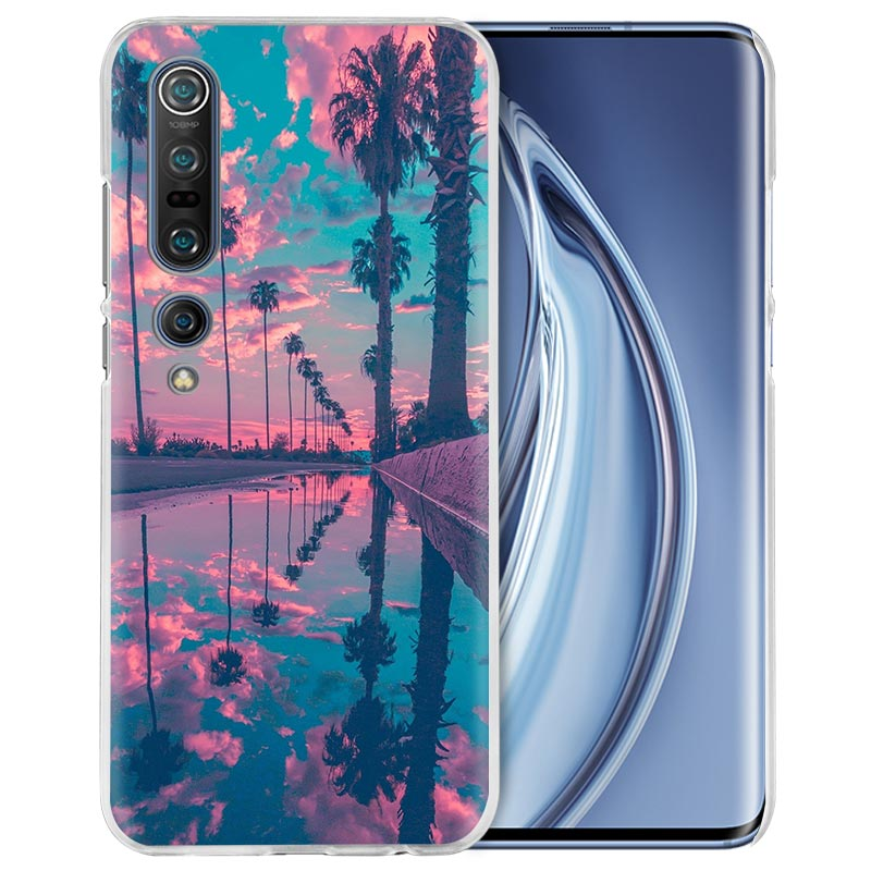 Summer Beach Case For Xiaomi Mi Note 10 Pro 9T 9 CC9 A3 A2 8 Lite 6X 10Youth 5G Poco X2 F1 F2pro Hard Coque Fall