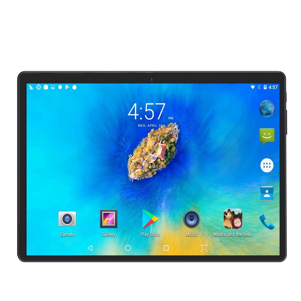 Pantalla IPS de 10 pulgadas llamada de teléfono 3G tableta Android 4GB 64GB Android 7,0 Octa Core Dual SIM soporte teléfono móvil GPS - 4