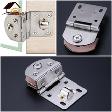 Door-Hinge Cabinet-Clamps Glass Stainless-Steel Gate-Clip Cupboard Wine Myhomera