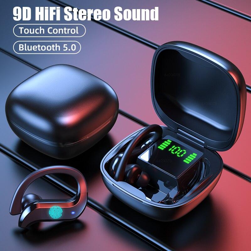 Наушники-вкладыши TWS Bluetooth наушники бизнес Беспроводные наушники с шумоподавлением 9D Hi-Fi стерео гарнитура с микрофоном для Xiaomi mp3