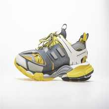 Popular Style Triple S Men Sneakers Breathable Mesh Women Ru