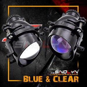 Image 2 - Sinolyn مصابيح الضباب لتويوتا كامري/كورولا/RAV4/يارس/اوريس/هايلاندر ثنائي جهاز عرض مزود بإضاءة زينون عدسة H11 D2H HID لمبة الملحقات لتقوم بها بنفسك