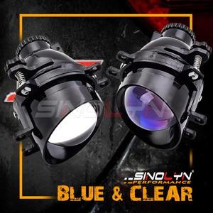 Image 2 - Sinolyn światła przeciwmgielne dla Toyota Camry/Corolla/RAV4/Yaris/Auris/Highlander Bi reflektor ksenonowy obiektyw H11 D2H ukryta żarówka akcesoria DIY