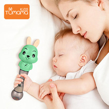 Tumama Baby Rattles Musical Light Hand Shaking Rattle Toy Funny Educational Mobiles Toys Early 0-12 Months