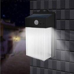 Im freien Motion Sensor Wand Straße Lampe mit Sensoren Garten Dekoration Außen Beleuchtung Lampa Solarna Wasserdichte Led Solar Ligh