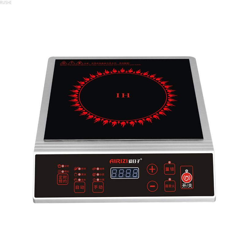 3500W Household Induction Cooker  Authentic Electromagnetic Furnace High-power Planar Stir-frying  Electric   Hot Pot