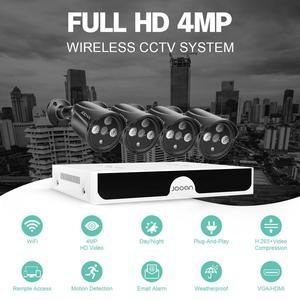 Image 2 - 4CH 4MP POE Kit H.265 System CCTV Security NVR Outdoor Waterproof IP Camera Surveillance Alarm Video Record