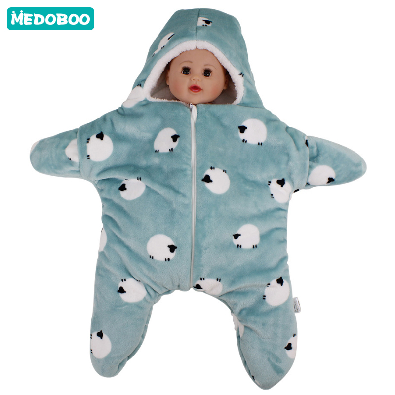 Medoboo 0-6M Baby Birth Sleeping Bag Hospital Discharge Envelope For Newborns Sleepsack Winter Warm Infant Slaapzak Stroller