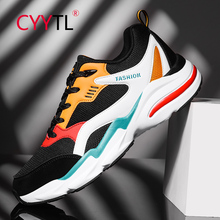 CYYTL Trend Net Mesh Casual Cushion Sneakers Men Casual Shoes Fashion Walking Tennis Trainers Sport Outdoor Breathable Shoe new exhibition shoes men breathable mesh summer outdoor trainers casual walking unisex couples sneaker mens fashion footwear net
