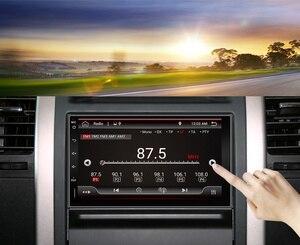 Image 3 - Eunavi 2 דין רכב רדיו מולטימדיה נגן Android10 אוניברסלי 7 HD אוטומטי אודיו סטריאו GPS ניווט 2Din 4G WIFI DSP 4G RAM BT5