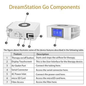 Image 5 - MOYEAH נסיעות מיני BPAP נשימה מכונה נייד אוטומטי BIPAP הנשמה ציוד רפואי עם מסכת צינור אנטי לנחור דום נשימה בשינה