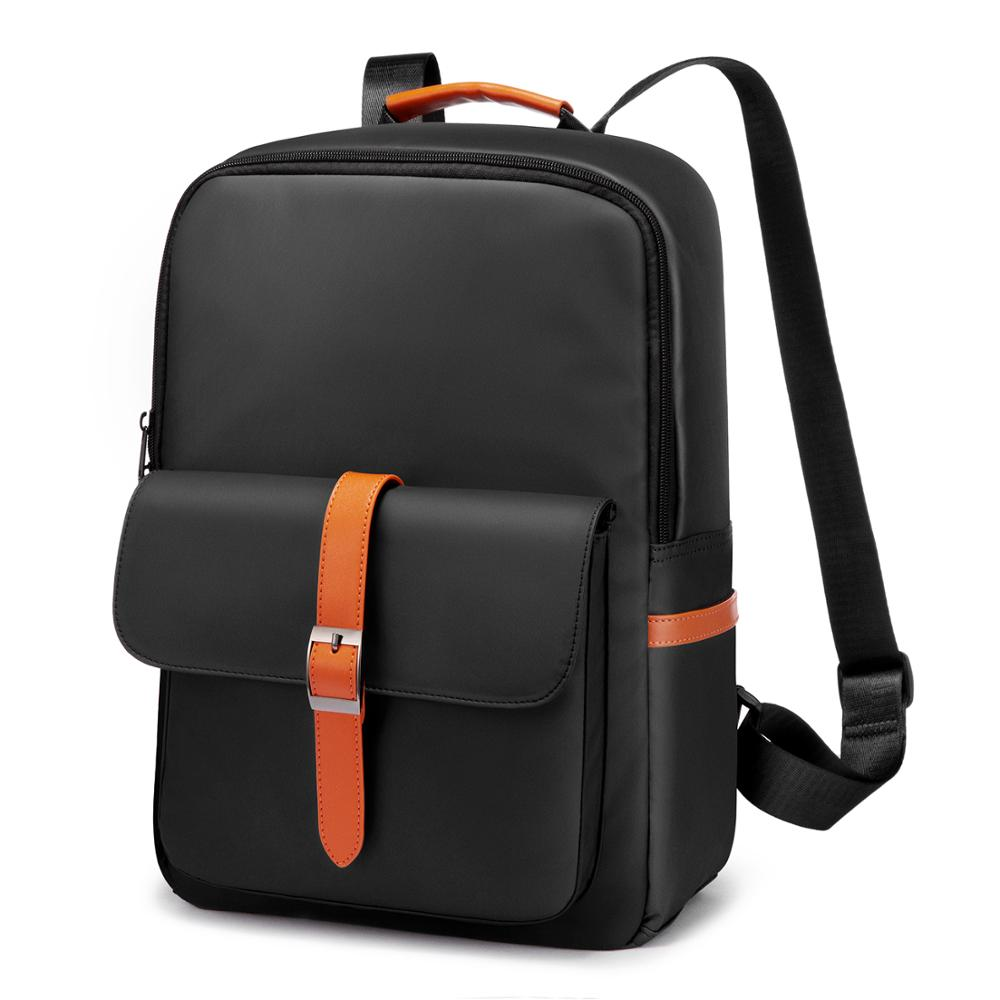 Realer Women Backpack Fashion 15.6 Inch Laptop Backpack For Business Waterproof Nylon Anti-theft Travel Rucksack Paneled 2020