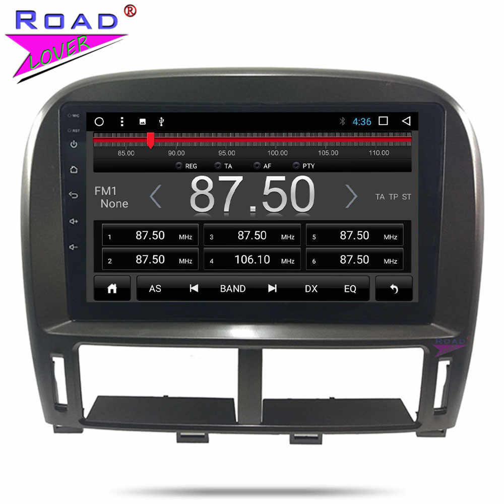 9 ''Mobil Radio Android 8.1 Auto Multimedia Player untuk Lexus LS LS430 XF30 2003 2004 2005 2006 Stereo Mobil kepala Unit Gps Navigasi