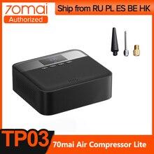 70mai Original compresseur d'air DC 12V numérique pneu gonfleur pompe à Air pour voiture moto pneu gonfleur pompe Auto pneu Pumb