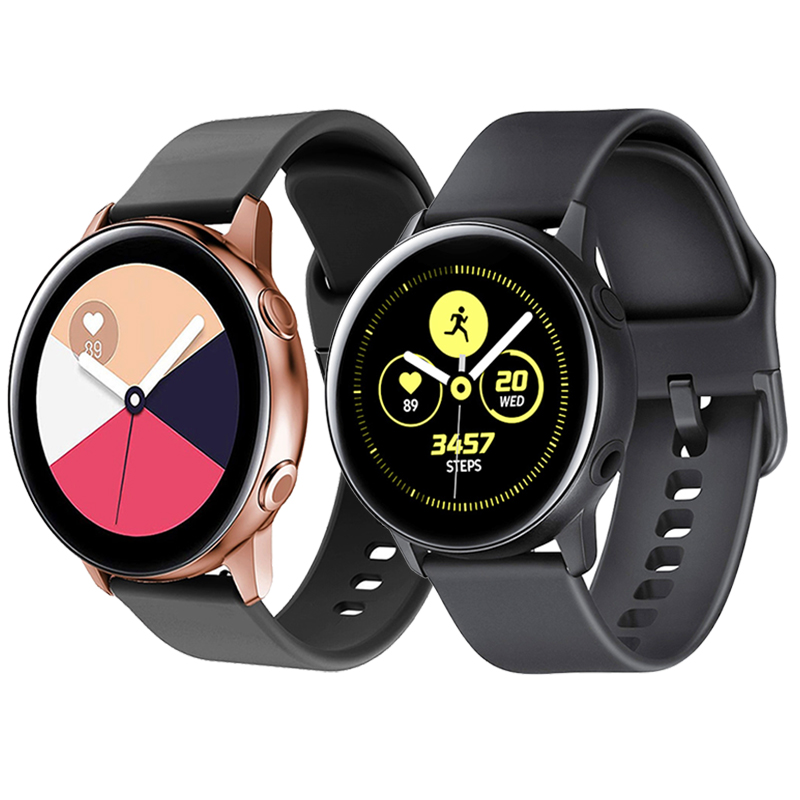 20mm-Soft-Silicone-Watch-Strap-Band-for-Samsung-Galaxy-Watch-42mm-Active2-40mm-for-Gear-S2 (1)