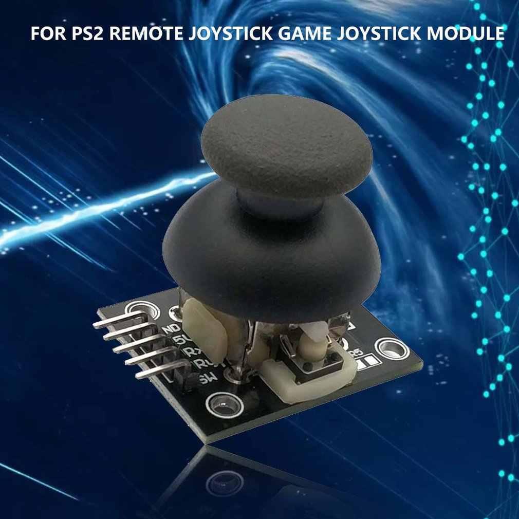 Arduino のデュアル軸 xy ジョイスティックモジュール高品質 PS2 ジョイスティックコントロールレバーセンサ KY-023 定格 4.9/5