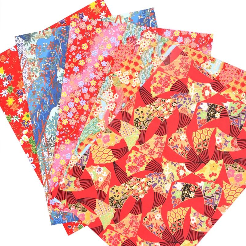 Origami japanisches Chiyogami Yunzen Papier, handgesiebtes Kraftpapier für Geschenkverpackungsbox Puppendekoration