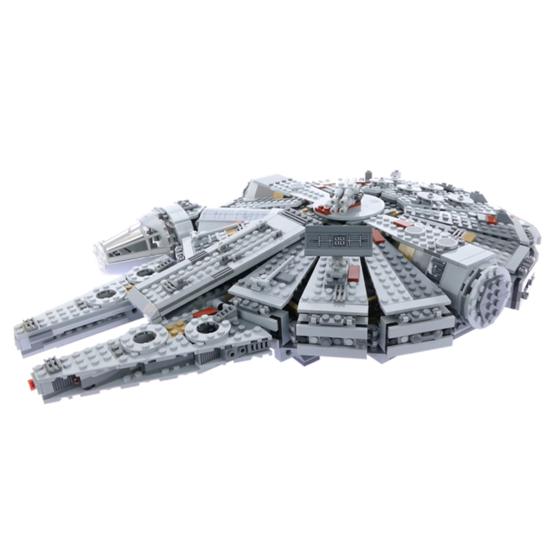 The Medium Size Falcon 1381pcs Compatible Star Plan 75105 Millennium Building Blocks Bricks Educational Toys Birthdays Diy Gifts image