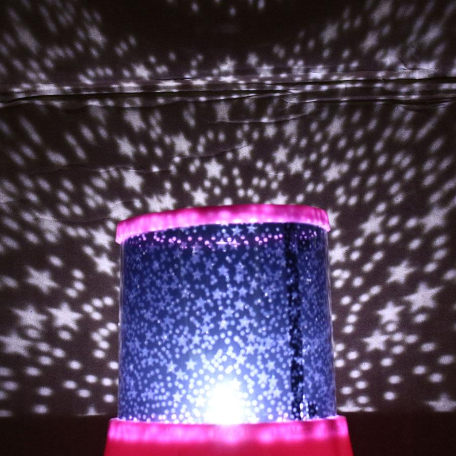 LED Night Light Lamp Christmas Projector Starry Sky Star Moon Master Children Kid Baby Sleep Romantic Colorful Led USB Projector