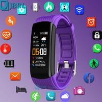 Reloj deportivo inteligente para hombre y mujer, pulsera electrónica para Android IOS, rastreador de Fitness, resistente al agua IP67