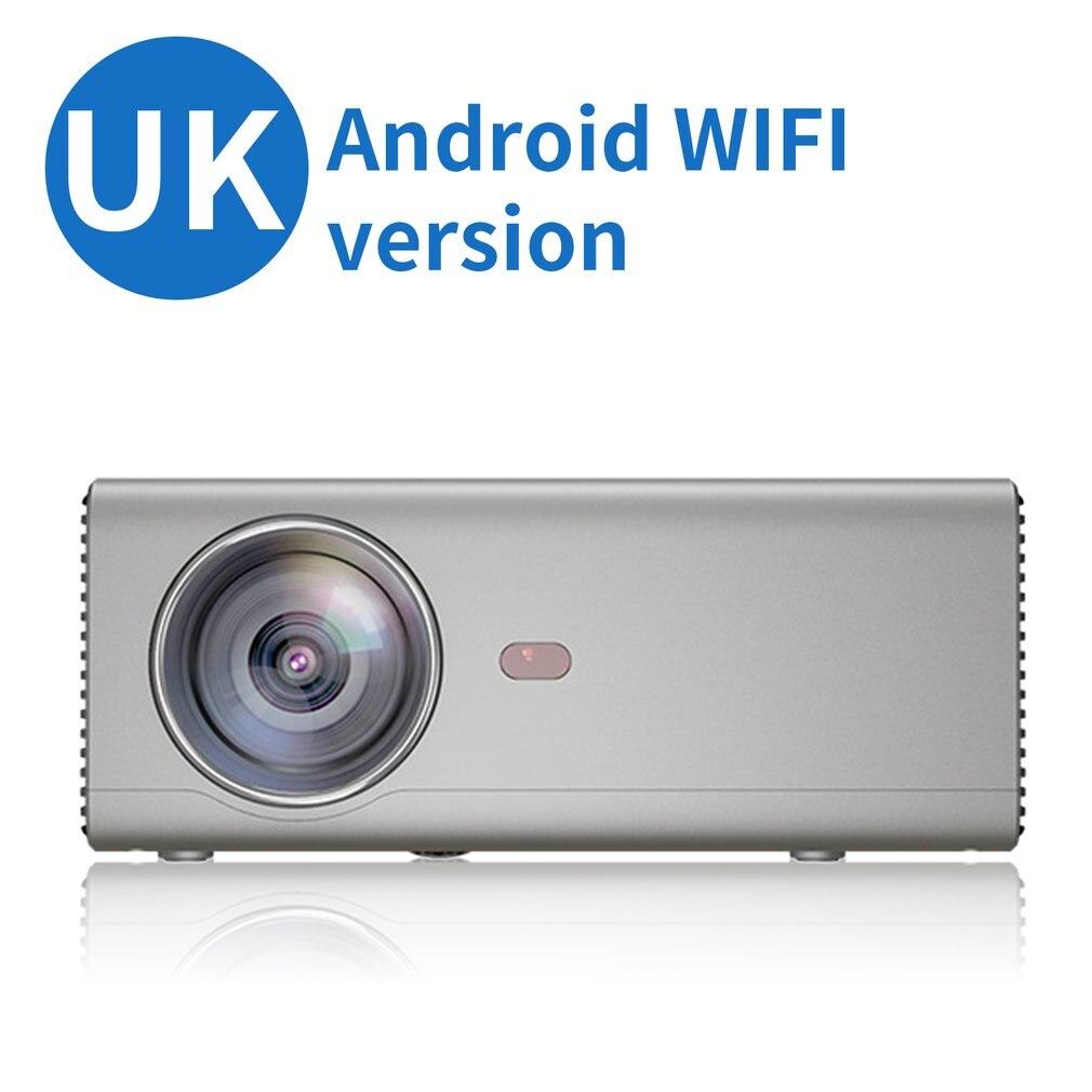 UK plus Rd825 projecteur Portable téléphone Portable Android WiFi maison projecteur LED Hd 1080P projecteur
