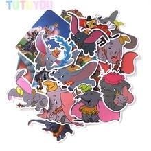 PC10 20 Pcs/set Elephant Scrapbooking Stickers Decal For for Guitar Laptop Luggage Car Fridge Graffiti Sticker
