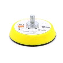 2 Mix Grit Sander Disc 3mm Shank Sanding Polish Polishing Pad Backer Plate Hot G8TB