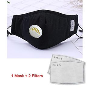 Image 3 - PM2.5 Anti Cotton Haze Mask Breath Valve Anti dust Mouth Mask Activated Carbon Filter Respirator Mouth muffle Mask Face