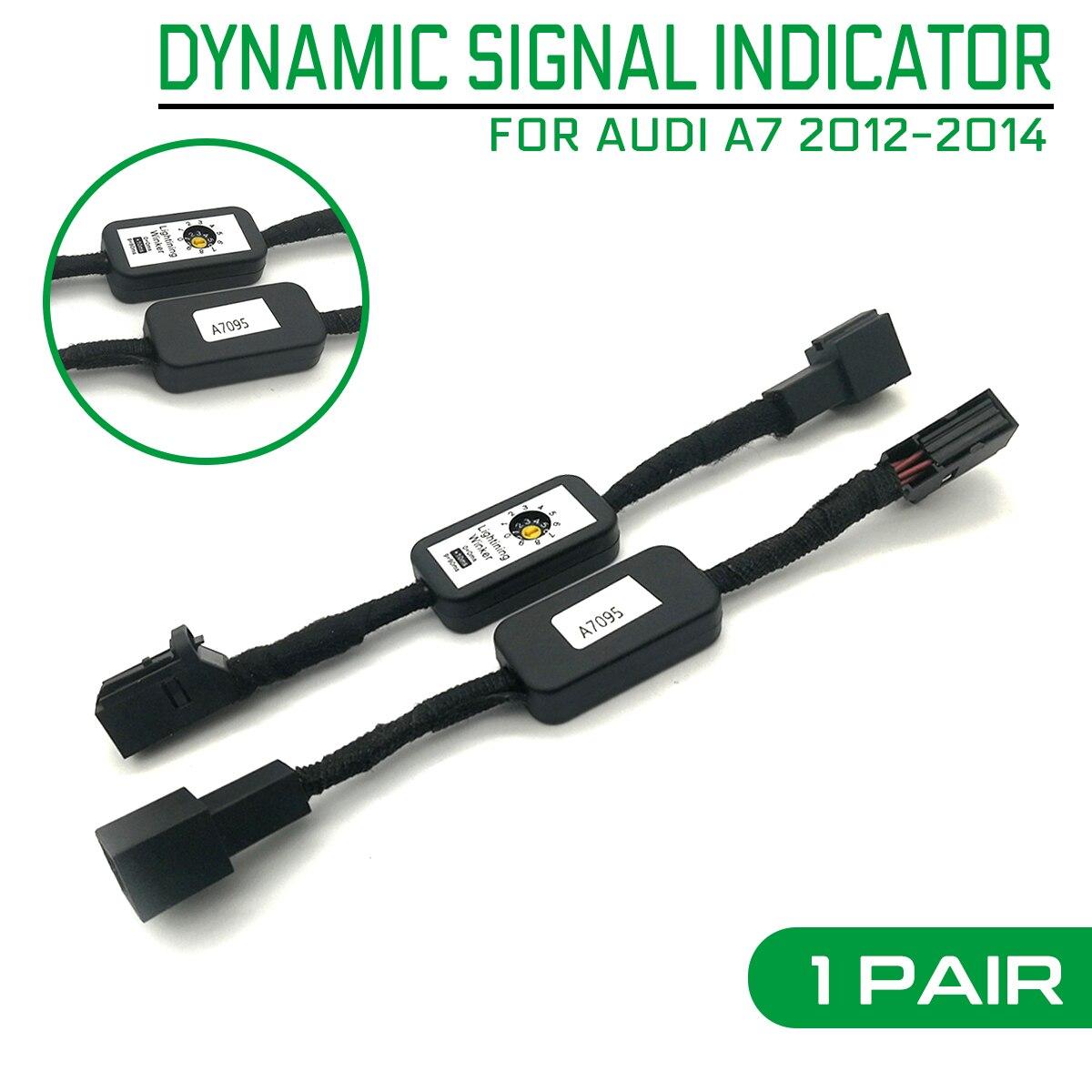 2 шт. автомобильный светильник с динамическим указателем поворота светодиодный задний светильник дополнительный модуль кабельный провод ж...